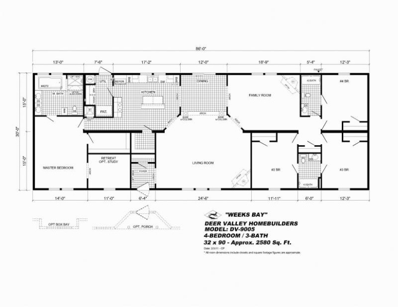 fairmont manufactured homes floor plans : Modern Modular Home on