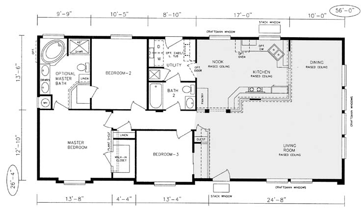 Photo Gallery Of The Manufactured Homes Floor Plans And Prices
